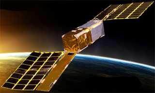 Cubesat Kit In Space