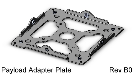 CubeSat Kit Payload Adapter Plate